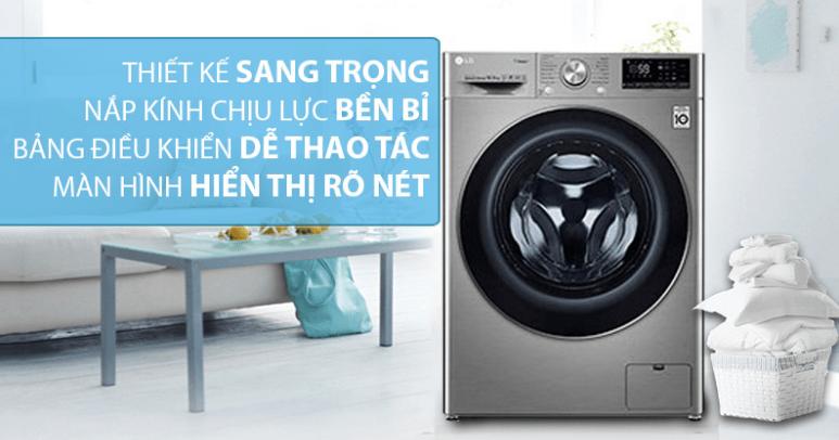Thiết kế sang trọng với nắp kính chịu lực, tinh tế cùng bảng điều khiển Tiếng Việt, tiếng Anh rõ ràng, màn hình Led hiển thị rõ nét