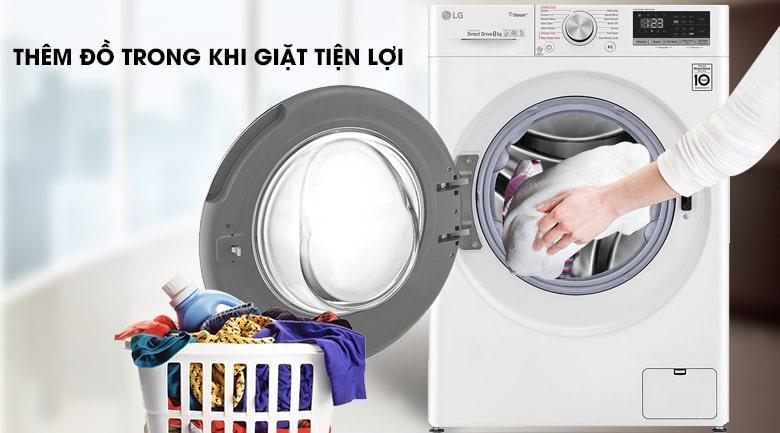 FV1408S4W thêm đồ trong khi giặt tiện lợi