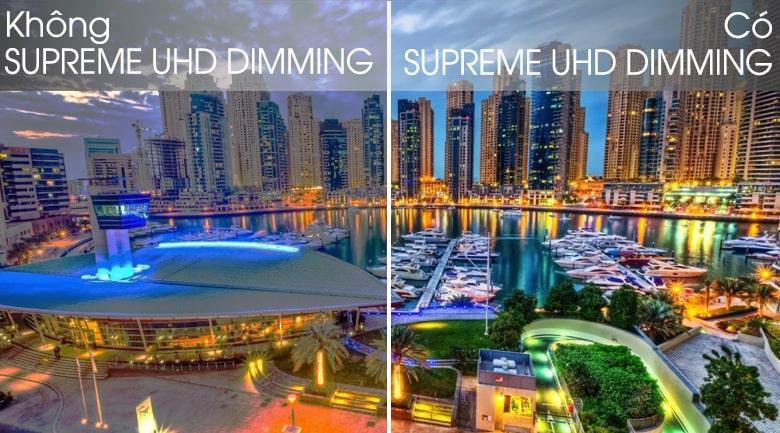 50Q65T có supreme UHD DIMMING cho màu sắc sống động hơn