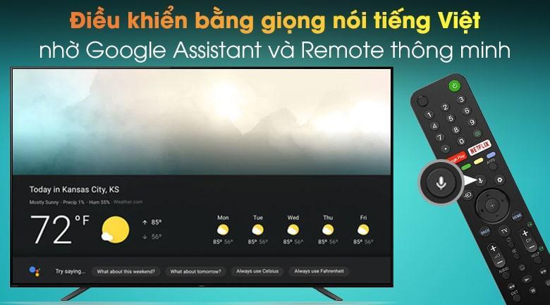 điều khiển bằng giọng nói tiếng Việt nhờ Google Assistant và Remote thông minh