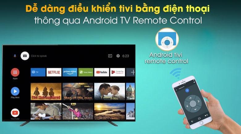 dễ dàng điều khiển tivi bằng điện thoại thông qua Android TV Remote control