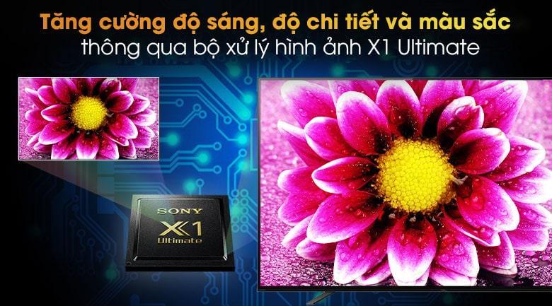 tăng cường độ sáng, độ chi tiết và màu sắc thông qua bộ xử lý hình ảnh X1 ultimate