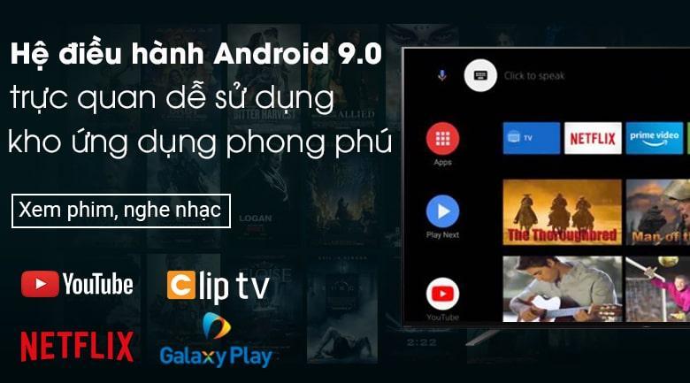 hệ điều hành android 9.0 trực quan dễ sử dụng kho ứng dụng phong phú