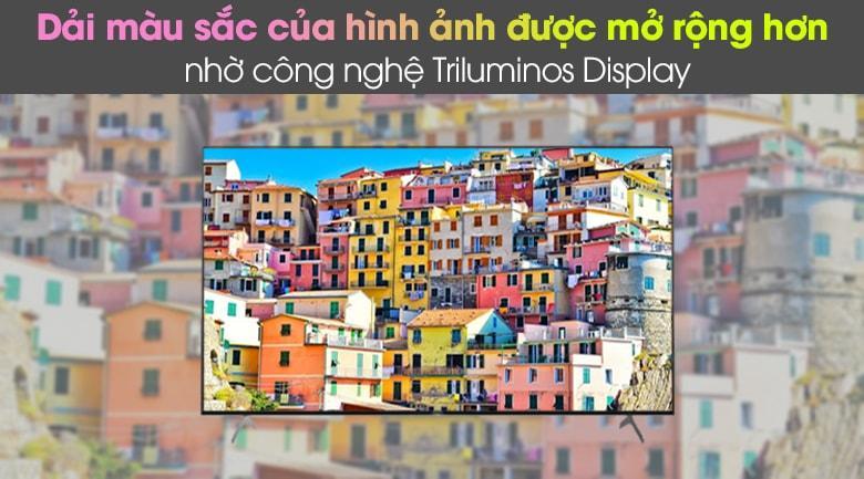 55X9000H hình ảnh cho màu sắc rực rỡ, mở rộng hơn nhờ công nghệ Trilumios Display
