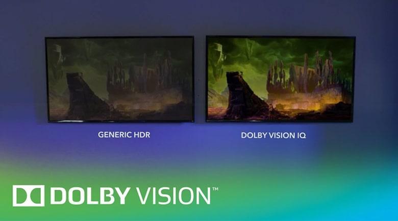 49X9500H tăng trải nghiệm hình ảnh Dolby Vision