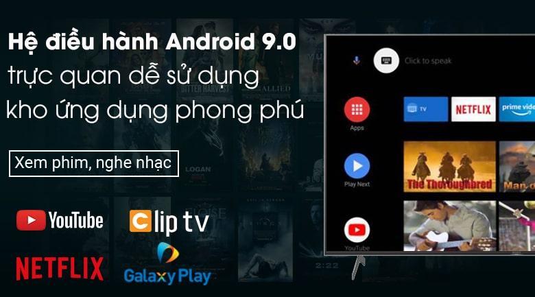 hệ điều hành android 9.0 trực quan dễ sử dụng với kho ứng dụng phong phú