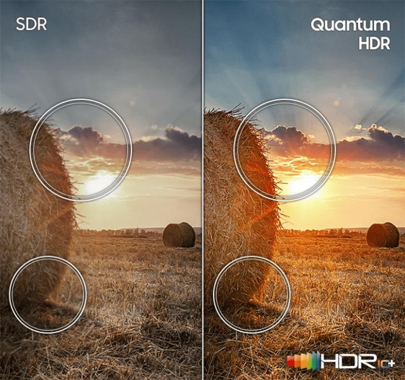 50Q65T trang bị công nghệ quantum HDR cho độ tương phản chuẩn hơn