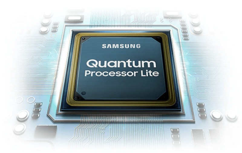 với sự hỗ trợ của chip Quntum Processor Lite cho hình ảnh chất lượng hơn
