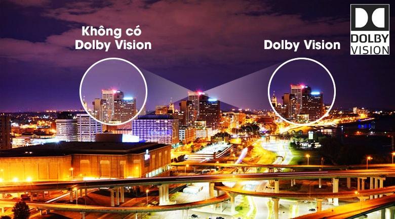 43X8500H/S trải nghiệm lôi cuốn với công nghệ Dolby Vision
