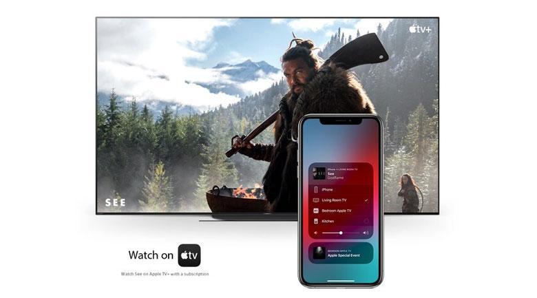 chiếu màn hình từ thiết bị IOS lên tivi cực kì đơn giản