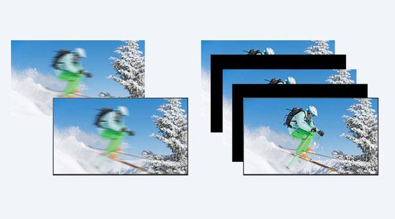 công nghệ Motionflow XR giúp tivi bắt kịp mọi chuyển động