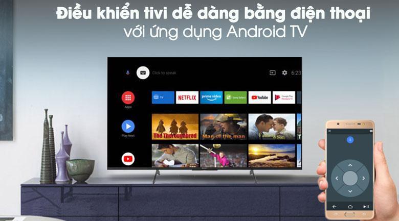 Điều khiển tivi dễ dàng bằng điện thoại với ứng dụng Android TV