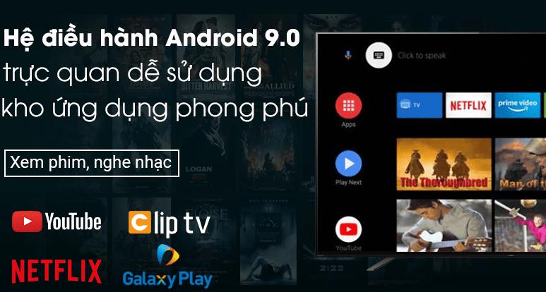 Kho ứng dụng giải trí đa dạng thể loại trên hệ điều hành Android 9.0