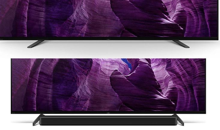 Thiết kế siêu mỏng của Tivi Sony 4K 65 inch KD-65A8H mang đến trải nghiệm xem tập trung tối đa vào hình ảnh, tiết kiệm không gian cho căn phòng