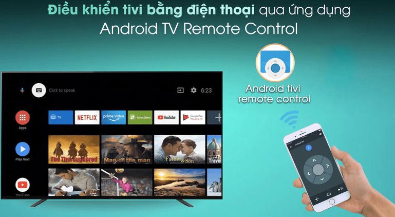 Điều khiển tivi bằng điện thoại với ứng dụng Android TV Remote Control