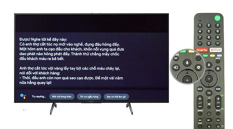 Remote thông minh cho tìm kiếm bằng giọng nói có hỗ trợ tiếng Việt