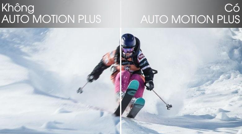 cảnh chuyển động mượt mà với công nghệ auto motion Plus