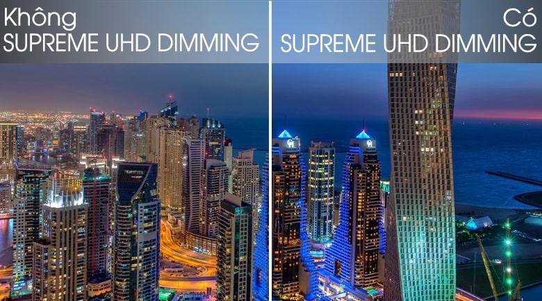 43Q65T cho hình ảnh rõ nét với công nghệ Supreme UHD Dimming