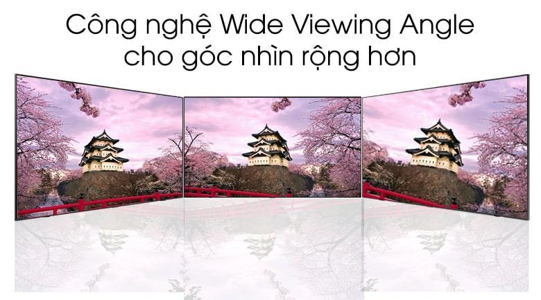 Công nghệ Wide Viewing Angle cho góc nhìn rộng hơn