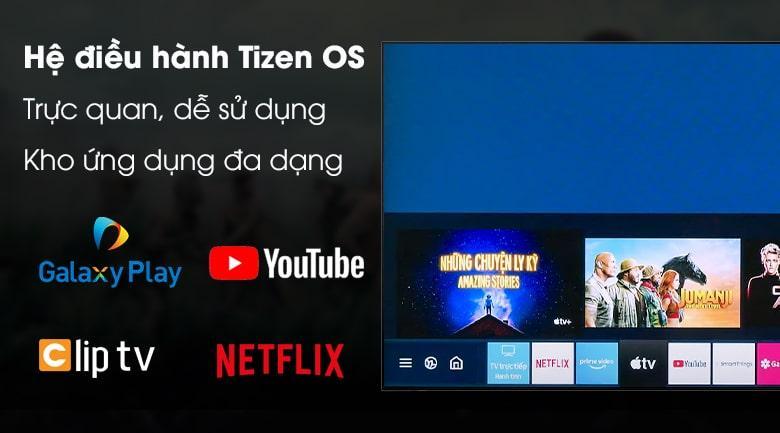 hệ điều hành Tizen OS trực quan, dễ sử dụng với kho ứng dụng đa dạng