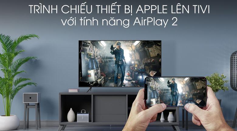 trình chiếu thiết bị Apple lên tivi với tính năng AirPlay 2