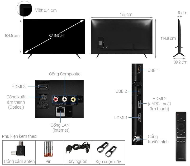 82TU8100 thiết kế chi tiết