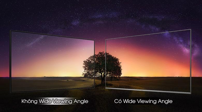 khung hình tuyệt đẹp với công nghệ có Wide Viewing Angle