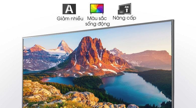nâng cấp chất lượng hình ảnh, giảm nhiễu, cho màu sắc sống động với
