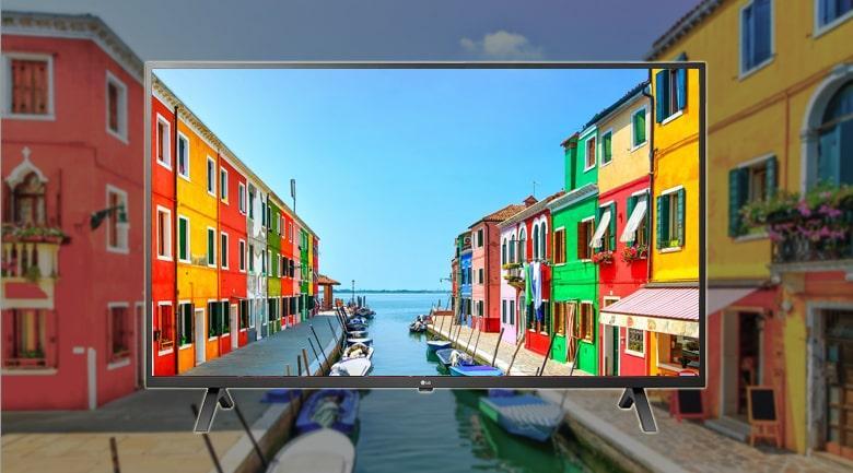hình ảnh sắc nét với độ phân giải 4K
