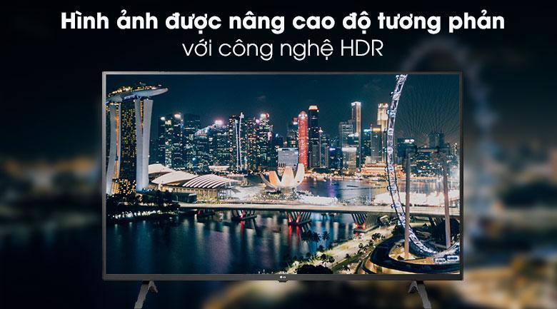 hình ảnh được nâng cao độ tương phản với công nghệ HDR