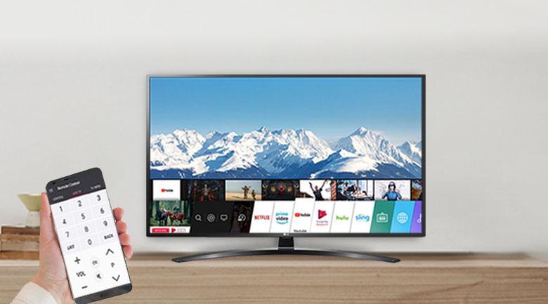 điều khiển tivi dễ dàng với smart phone