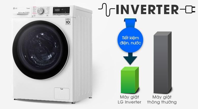 công nghệ inverter giúp tiết kiệm điện nước hiệu quả