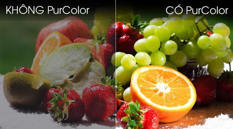 58TU7000 cho màu sắc tuyệt vời hơn với công nghệ PurColor