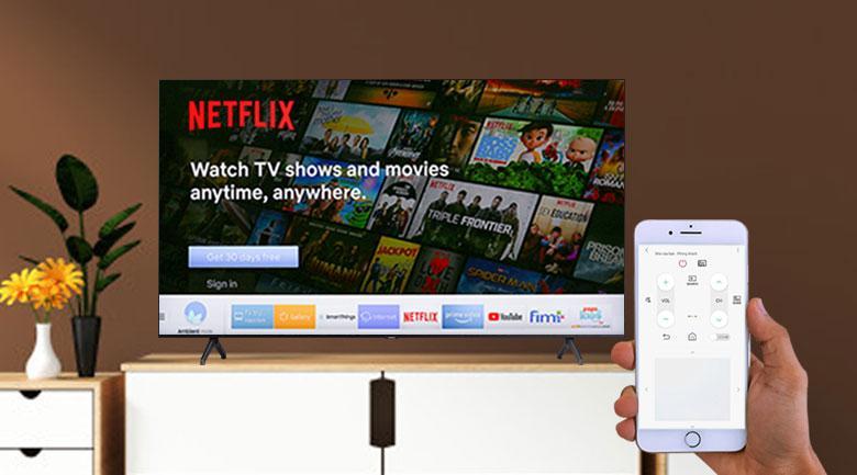 ứng dụng cho phép điều khiển tivi bằng điện thoại dễ dàng hơn