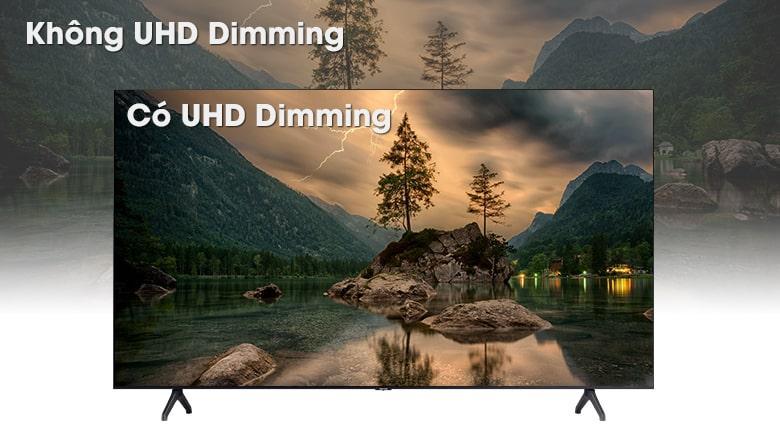 nâng cấp hình ảnh sống động và chân thực với UHD Dimming