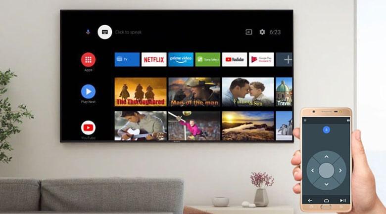 điều khiển tivi bằng điện thoại dễ dàng hơn