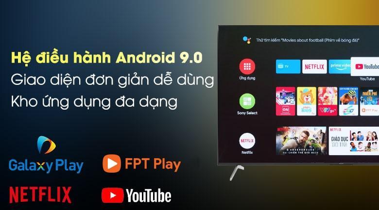 hệ điều hành android 9.0 giao diện đơn giản dễ sử dụng