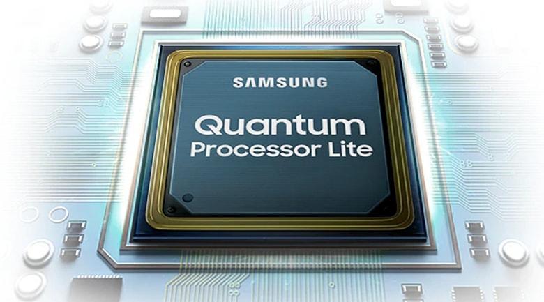tivi samsung Quantum Processor Lite cho độ tương phản cao hơn