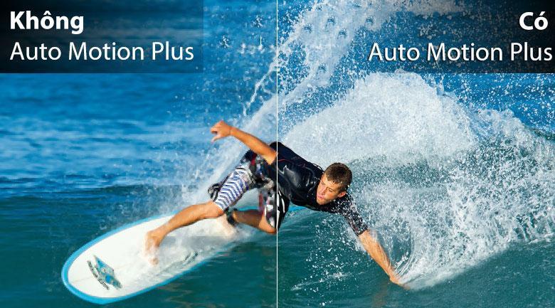 55Q65T có auto motion Plus cho chuyển động mượt mà hơn