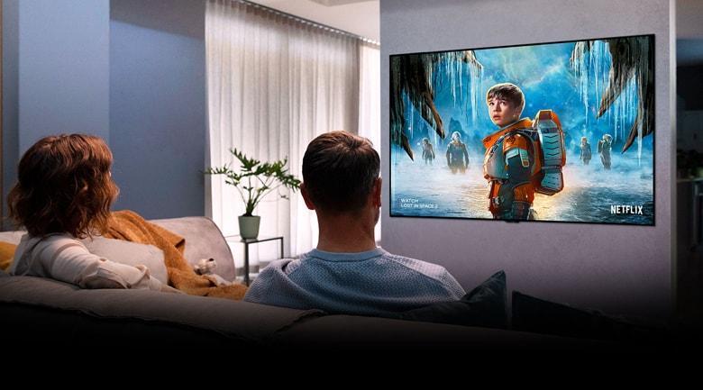 công nghệ Cinema HDR 4K cho hình ảnh nét như chiếu rạp