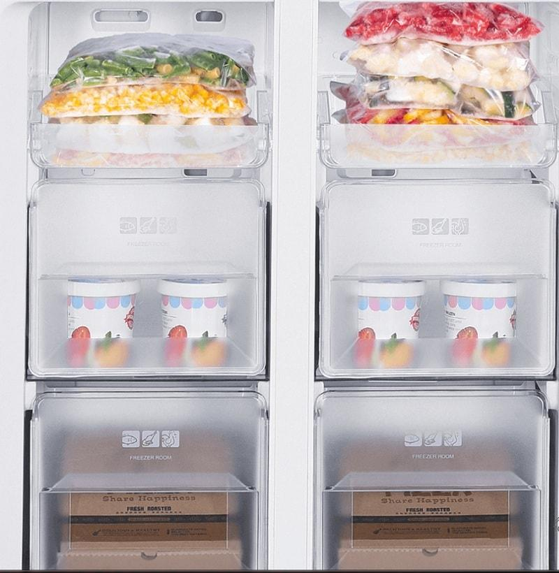 chế độ Exxpress Freezing cấp đông nhanh thực phẩm