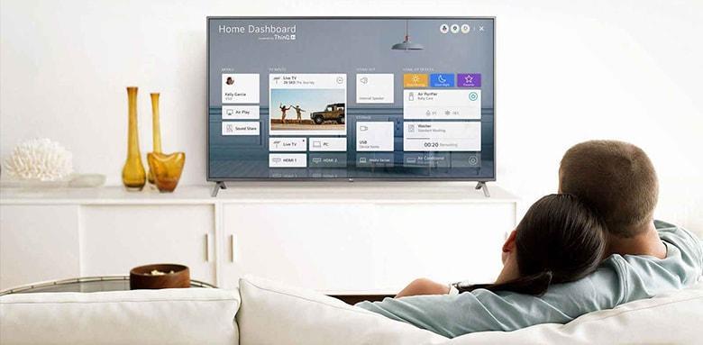 điều khiển tivi dễ dàng với Magic Remote và ThinQ Al