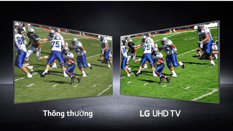 độ phần giải 4K cho hình ảnh sắc nét gấp 4 lần Full HD