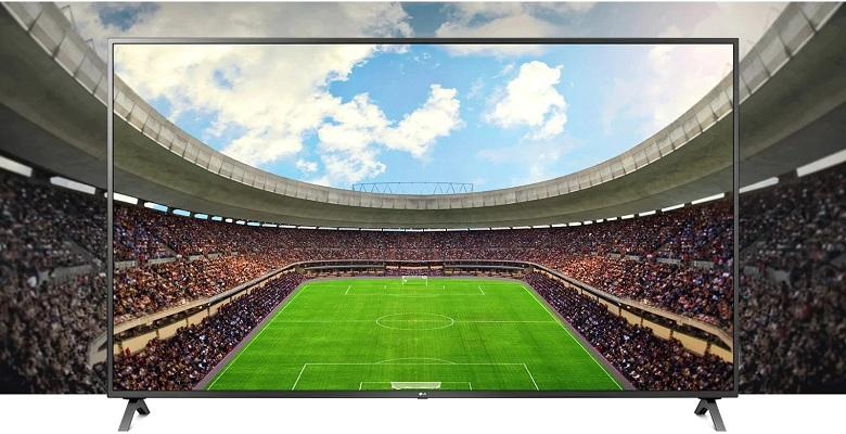 TV LG 65UN7300 có độ phân giải 4K cho hình ảnh sắc nét