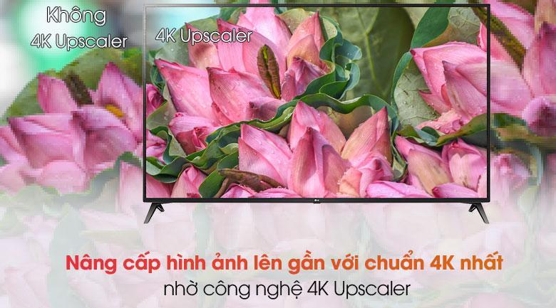 70UN7300 nâng cấp hình ảnh lên gần với chuẩn 4K nhất nhờ công nghệ 4K Upscaler
