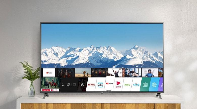 TV LG 86UN8000 có thiết tinh tế, sang trọng