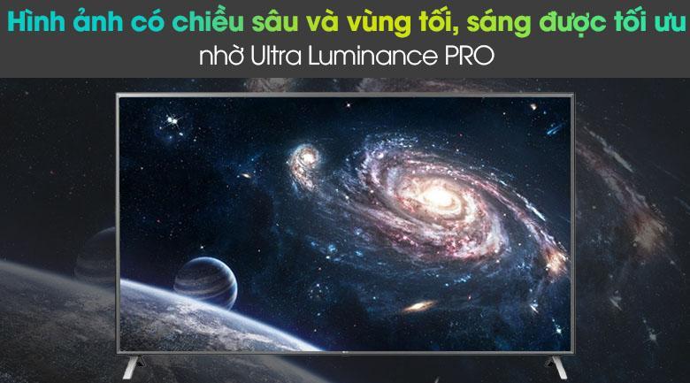 86UN8000 hình ảnh có chiều sâu và vùng tối, sáng được tối ưu nhờ Ultra Luminance PRO