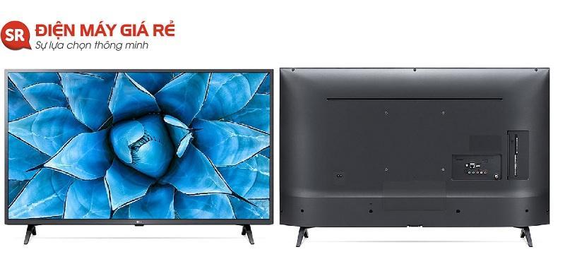 tivi LG 43UN7350 thiết kế chi tiết