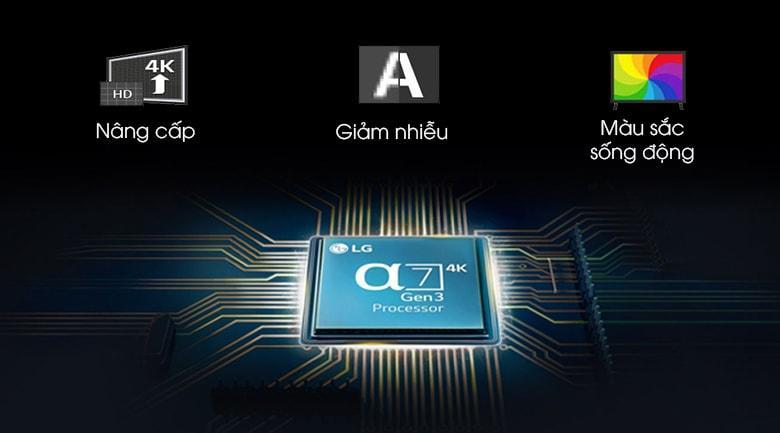 tối ưu hóa hình ảnh đầu vào với chip xử lý anpha 7 gen 3