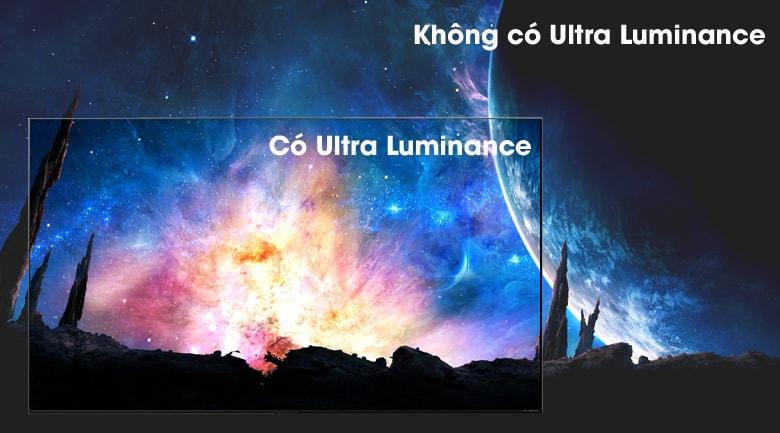 cho hình ảnh có màu đen sâu hơn với Ultra Luminance